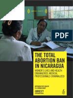 Amnesty Int Nic Abortion Ban