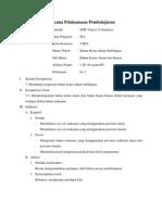 RPP kimia smp zat pewarna (model pembelajaran induktif)