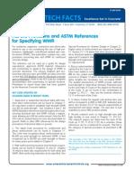 TF 207-R-09_ACI_318-ASTM_SpecifyRef