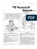 Writing Technical Reports