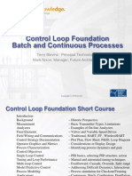 Control Loop Foundation Overview