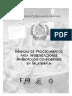 Manual Procedimientos Antropologico Forenses Guatemala2
