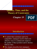 Process Management - Quality, Time and the Theory of Constraints - Pareto Presentation