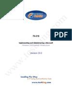 TestKing 70-216 v23