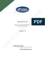TestKing 70-218 v7