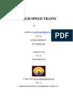 High Speed Trains (1)