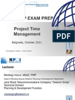 Project Time Management Workshop 11.10.2011.