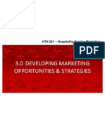 3.0 Developing Marketing Opportunities and Strategies (1)