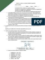 Solución ficha 05 instrumentos de medida y notación científica
