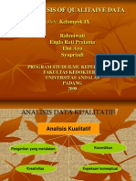 1. Analisis Data Kualitatif