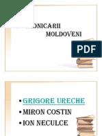 Cronicarii Moldoveni