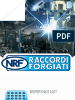 Raccordi Forgiati - Reference List