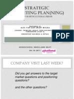 Sheets AvdZwart Strategic Marketing Planning Inholland 4 Oct. 2011