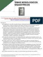 1 TC Sistemas Nosologicos Y Sistemas Clasificacion Actual