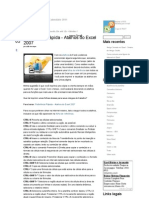 Referência Rápida - Atalhos do Excel 2007