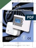 Salus RT500RF Manual