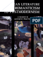 34293792 European Literature From Romanticism to Postmodernism