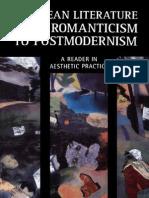 34293792 European Literature From Romanticism to Postmodernism