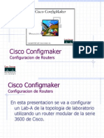Configurar Router con Cisco Config Maker