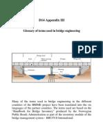 Glossary & Terms in Bridge Engineering