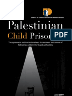 Systematic & institutionalised ill-treatment & torture of Palestinian children by IL authorities
