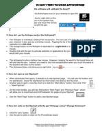 Twenty Easy Steps ActivInspire