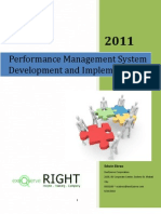 ExeQserve Performance Management System Implementation