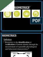 23636372 Bio Metrics Seminar Ppt