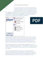 Acciones de control __ Manual de Game Maker 8 en español