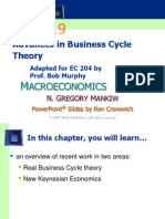 CHAP19 Advance in Business Cycle Theory