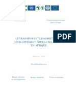 Transport and the MDGs-09!03!2005-French