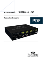 Saffire 6 USB User Guide Es