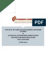 Common Core Standards June 2010 Webinar Final v 2
