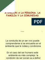 ATENCIN a La Persona, Familia y Comunidad Borrador