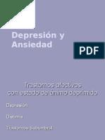 Transtornos afectivos  noviembre 2007