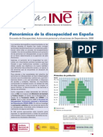 Panorámica de la discapacidad en España