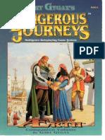 Dangerous Journeys Epic of Aerth