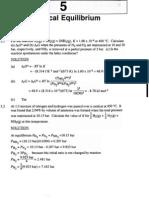 Equilibrium Homework Solutions[1]