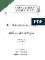 Solfeo de Los Solfeos- Dannhauser Part 3