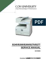 RICOH - MP C5503 Manual Tecnico | Image Scanner | Computer Architecture