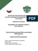 Set de Instrucciones Micro