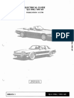Xjs 1990 1991 Elec Guide Sports Car Manufacturers Luxury Brands