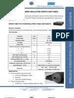 Infinity NBR PVC Insulation Sheet Tube 2