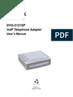 Dvg 5121sp Manual