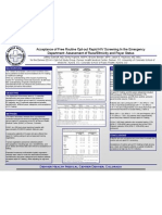 Acceptance of Free Routine Opt-Out Rapid HIV Screening in the Emergency Department Assessment of Race Ethnicity and Payer Status