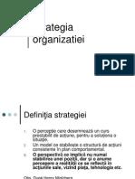 Strategia Organizatiei
