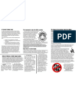 "School of the Americas - tri-fold, legal sized (8 1/2 x 14"") brochure (inside)"
