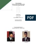 Sejarah - Daftar Presiden Dan Wakil Presiden RI (Orba - Skrng)