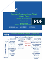 Corporate Strategies in the Global Market Place by Richard Brown.