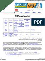 AIX Administration